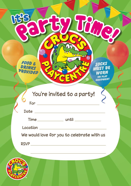 Croc's Party